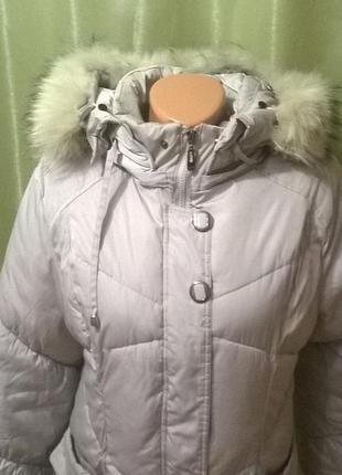 Куртка пуховик 134