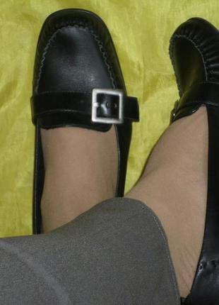 Кожаные туфли clarks р 39 бразилия
