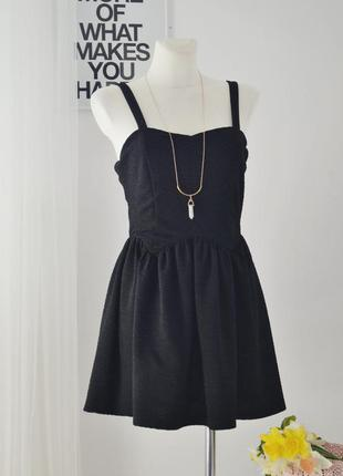 Фактурное платье топшоп