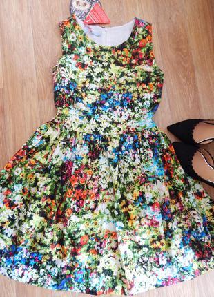 Цветочное платье joe browns