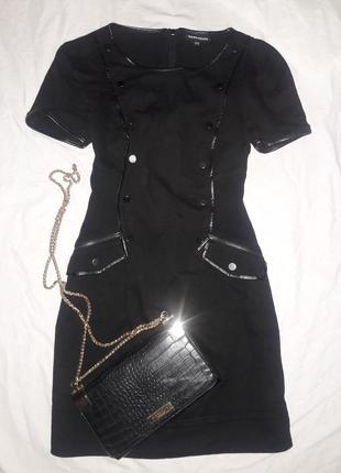 Платье черное размер 12