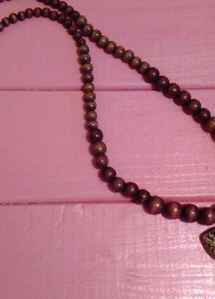 Деревянное ожерелье