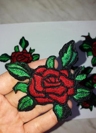 Модные нашивки розы
