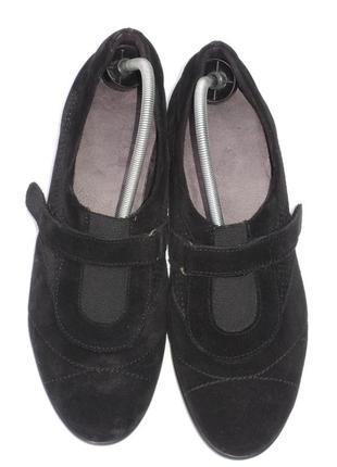 Новые кожаные закрытые туфли marks&spencer footglove р.41-42 (27 см)