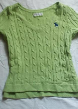 Модный свитер в крупную вязку от abercrombie & fitch