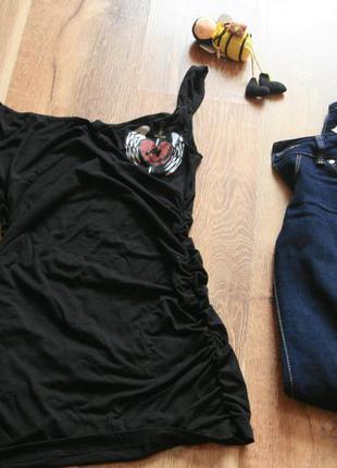 Крутая футболка-платье# туника