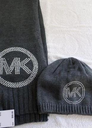 Michael kors, фирменный теплый шарф, оригинал.