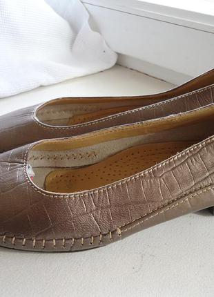 Кожаные туфли pierre cardin 37р.