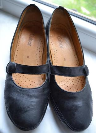 Туфли gabor натуральная кожа