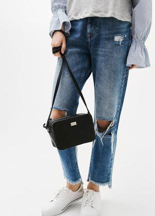 Новая сумка кроссбоди bershka