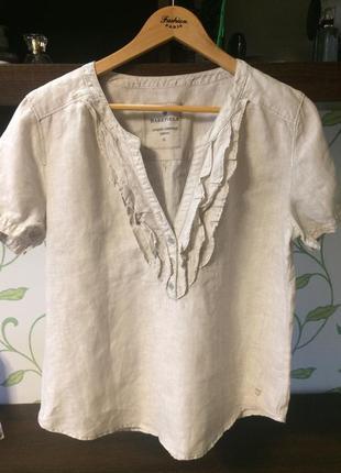 Блузка 100% лен