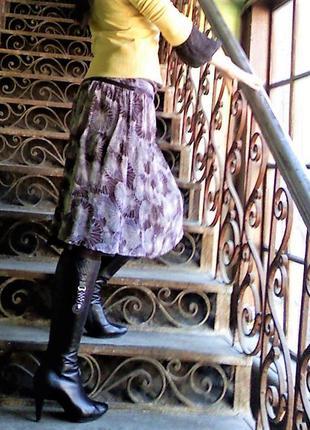 Шелковая юбка mexx р 36-38