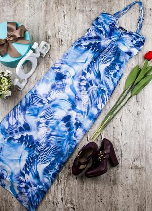 Платье-сарафан шифоновый от jane norman