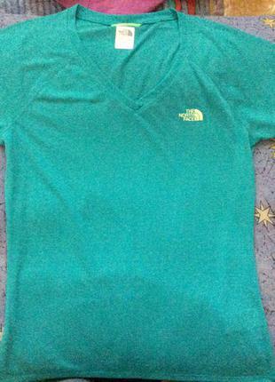 Голубая, бирюзовая футболка из америки