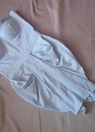 Красивое платье бюстье от lipsy