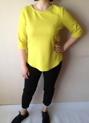 Рубашка блузка блуза салатневая яркая