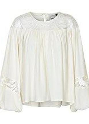 Блуза разлетайка бохо
