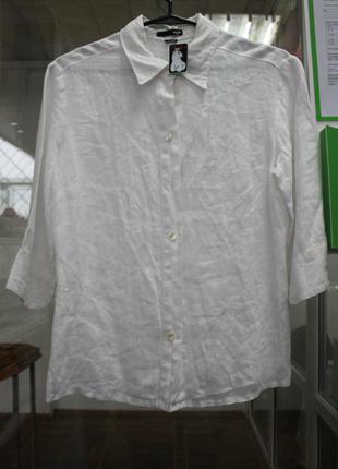 Рубашка льон 100%