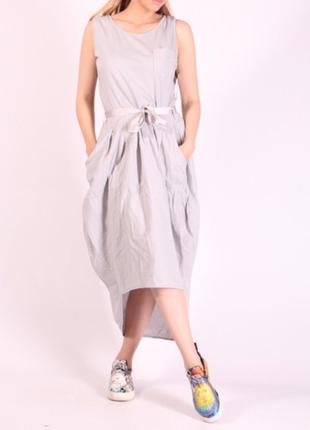 Плаття сіре
