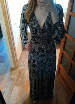 Платье в пол от asos
