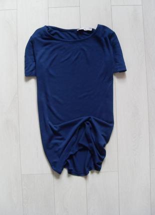 Базовая синяя футболка рр.xs-s