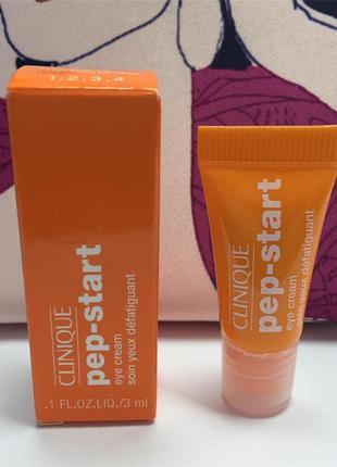 Clinique увлажняющий крем-гель для кожи вокруг глаз clinique pep-start 3мл
