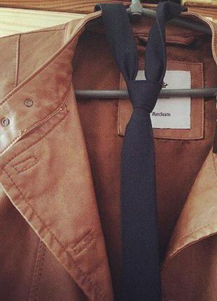 Кожаная куртка от colin`s + подарок