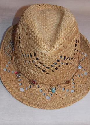 Летняя соломенная шляпка accessorize