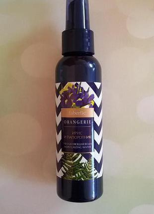 Увлажняющая вода ирис и папоротник серии orangerie faberlic