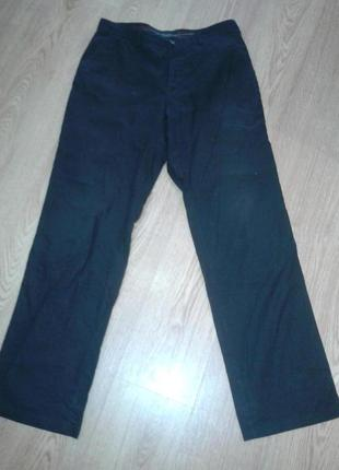 Фирменные брюки лен р. 33х34