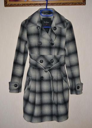 Пальто kira plastinina шерсть 34 размер
