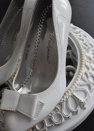 Свадебние туфли tulipano италия