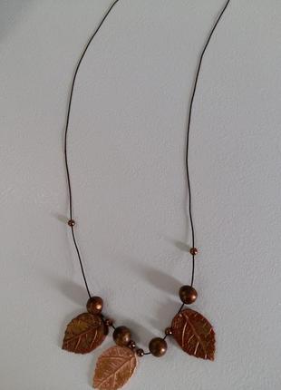 Колье ожерелье ручної роботи