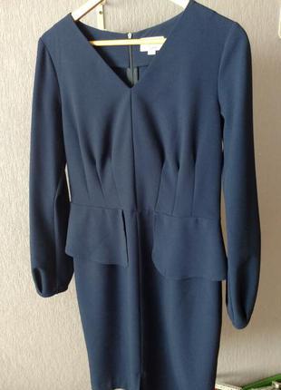 Satin, оригинал. платье-футляр, платье-миди от украинского дизайнера. m-l