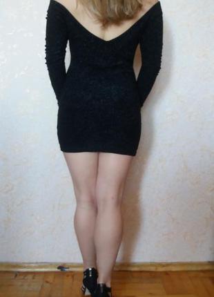 Французское  коктейльное мини  платье feeling с-м