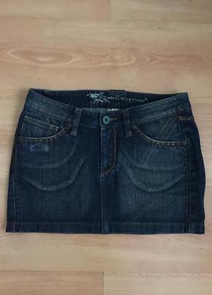 Джинсовая юбка calliope, идеальное состояние