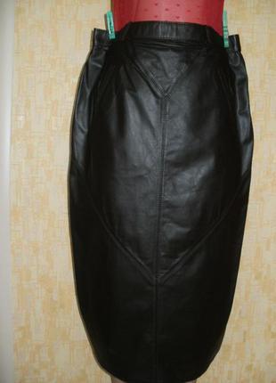 Vip.отличная юбка из натуральной  кожи юбка кожаная юбка кожаная юбка