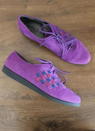 Кожаные полуботинки, ботинки hallo by ricosta, 40 размер