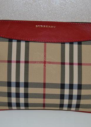 Сумка crossbody burberry оригинал красная