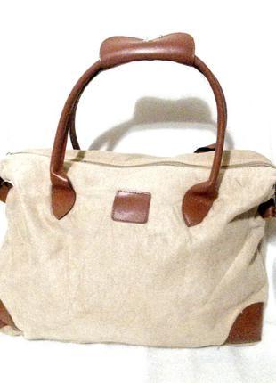 Модная сумка под кожу и замш,эко стиль,веган стиль!
