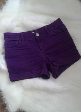 Фиолетовые шортики