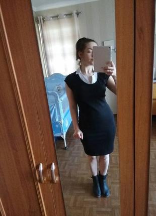 Платье с форотничком