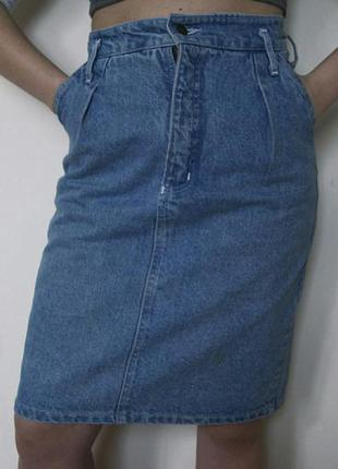 Высококачественная хлопковая юбка etam