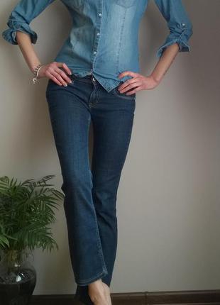 Meltin pot классические стрейчевые джинсы -  трубы