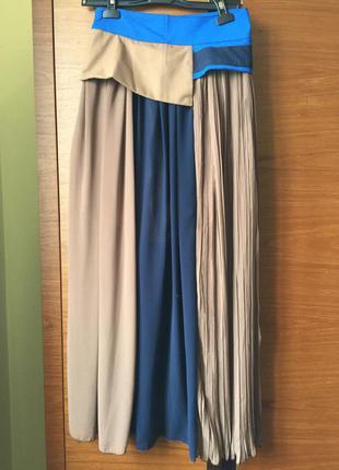 Длинная необычная юбка
