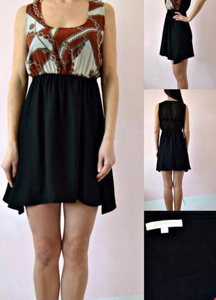 Платье туника с удлиненными боками 12(m-l)