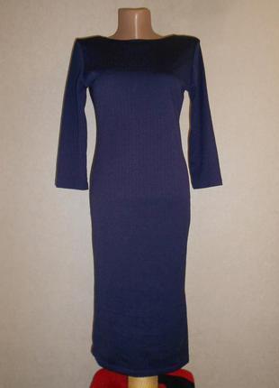 Платье футляр warehouse рукав три четверти, р. 10, европ. 38, s-m