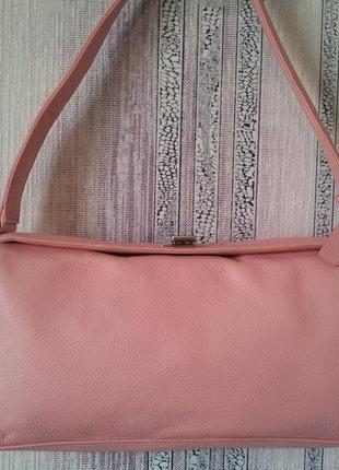 Кожаная сумка laura ashley.