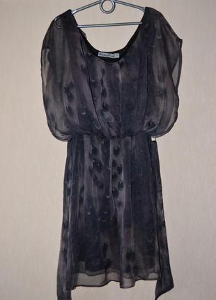 Шикарное шифоновое платье gloria jeans xs
