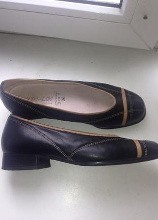 Туфли gabor. натуральная кожа.германия!